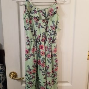 NWT Decree Short Floral Print Dress (size XS)